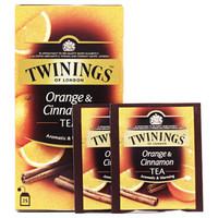 TWININGS 川宁 柑桔肉桂果香红茶 5g*25包