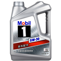 Mobil 美孚1號 全合成機油 5W-30 SN級 4L小保養套餐 含機濾工時 278送50元中石化油卡