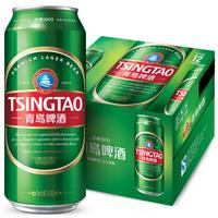 青岛啤酒 (TsingTao) 经典1903 整箱装 500ml 12听