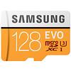 SAMSUNG 三星 存儲卡 EVO黃色升級版 高速TF卡(Micro SD卡)128GB
