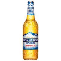 HARBIN 哈尔滨 冰纯啤酒 600ml 12瓶 普通装