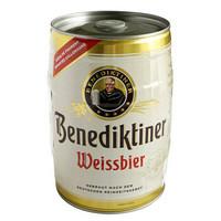 Benediktiner 百帝王 小麥白啤酒 5L桶裝 *2件