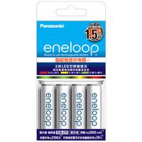 eneloop 爱乐普 KJ55MCC40C 充电电池 5号4节 含55快速充电器