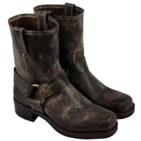 限7、7.5码:FRYE Harness 8R 男款真皮休闲靴