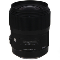 SIGMA 适马 ART 35mm F1.4 DG HSM 标准定焦镜头 尼康卡口
