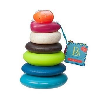 B.Toys 水漂石叠塔杯 益智堆环叠叠乐