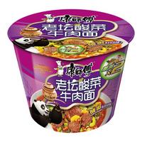 康师傅 经典系列老坛酸菜牛肉面 119g*12桶