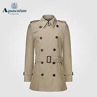 Aquascutum 雅格狮丹 男士中短款大衣