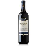 Beringer 贝灵哲 加州梅洛红葡萄酒 750ml