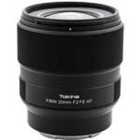 新品发售:Tokina 图丽 FíRIN 20mm F2.0 FE AF 广角定焦镜头