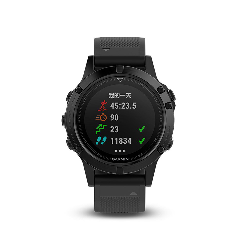 【限量】Garmin佳明fenix5飞耐时5国行中文版蓝宝石镜面DLC光电心率GPS运动表