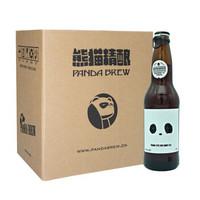 PANDA BREW 熊猫精酿 蜂蜜艾尔 精酿啤酒 国产啤酒 330ml*6瓶 *7件