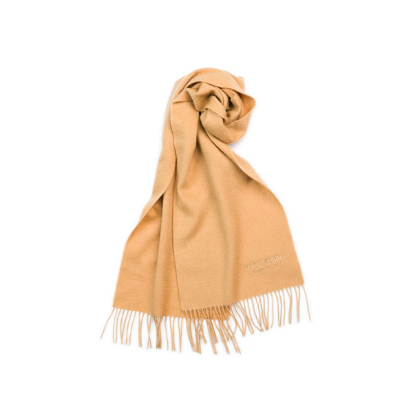 Jaquemon Scarf Classic  羊毛围巾 高贵驼