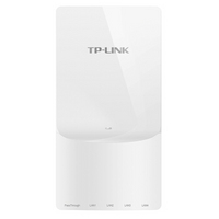 TP-LINK 普联 TL-AP1758GI-PoE AC1750双频无线面板式AP