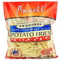 安维(Anwell)美国进口 原味薯条 400g