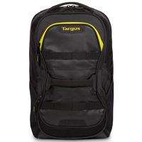 泰格斯Targus 双肩包电脑包15.6英寸大容量休闲运动健身包 男防水双肩背包  黑/黄 TSB944