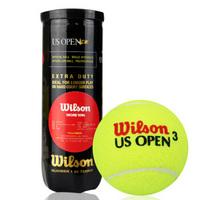威尔胜Wilson WRT106200 美网比赛训练网球 塑罐3粒装