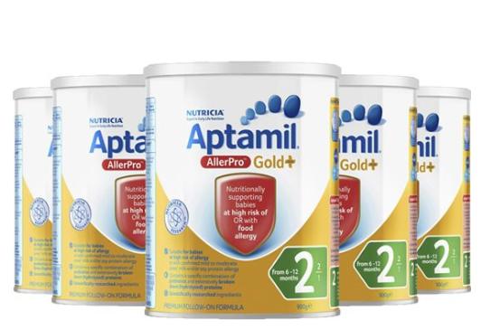 Aptamil 爱他美深 度水解奶粉 2段 900g