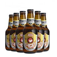 日本常陆野猫头鹰Hitachino Nest Lager拉格啤酒330ml*6瓶