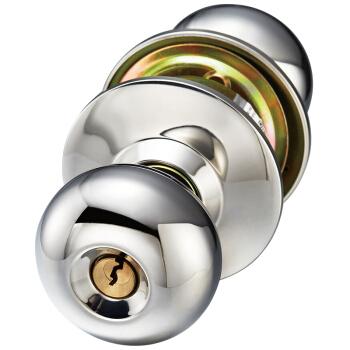 飞球( Fly.Globe) 球形锁室内卧室门锁304不锈钢球锁铜锁芯 双锁舌通用款  FQ-5791CP