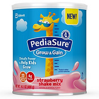 Pediasure Grow & Gain 草莓混合奶昔 400g