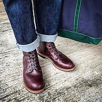 限尺码:RED WING 红翼 Beckman系列 9011 男士工装靴