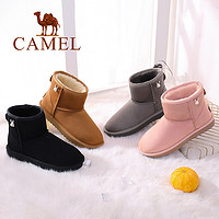 CAMEL 骆驼 纯色 雪地靴