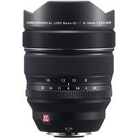 双11预售:FUJIFILM 富士 XF 8-16mm F2.8 R LM WR APS-C画幅超广角变焦镜头