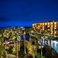 享私家海滩,观蜈支洲岛!三亚海棠湾万达希尔顿逸林度假酒店1-3晚度假套餐