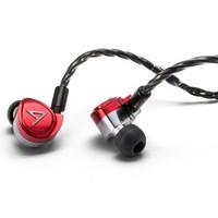 双11预售:Iriver 艾利和 Astell&Kern Diana 三单元动铁耳机 红色