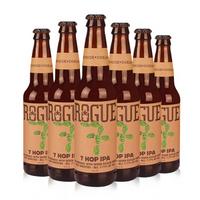 罗格(rogue)农场酒花七仙印度淡色艾尔 精酿啤酒 组合装 355ml*6瓶 美国进口