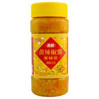 海南特产 南国 黄灯笼辣椒酱 火锅蘸料 香辣味500g/瓶