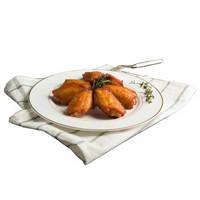 泰森Tyson 奥尔良鸡翅中454g 鸡翅 翅中 调味鸡翅 烤翅 烤鸡翅 烧烤食材
