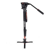 科漫 COMAN KX3232摄像机独脚架单反单脚架支架专业便携摄影摄像机佳能尼康索尼配件液压云台