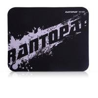 镭拓(Rantopad) H1mini橡胶布面便携笔记本电脑办公鼠标垫 小号 黑色