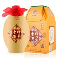 即墨老酒 黄酒 泡阿胶 御典10 甜型 焦香型 11.5度 1L