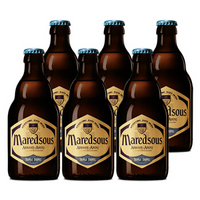 马里斯(Maredsous)比利时 原瓶进口 精酿 马里斯10度 修道院啤酒 330ml*6瓶
