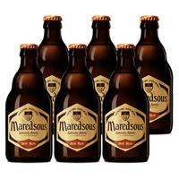 马里斯(Maredsous)比利时 原瓶进口 精酿 马里斯8度 修道院啤酒 330ml*6瓶