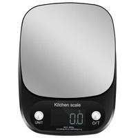 拜杰(Baijie)烘焙秤厨房秤电子秤精准家用迷你克秤3kg C305-3KG黑色
