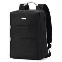 法国乐上(LEXON)双肩包背包13.3/14英寸商务电脑包男士笔记本包休闲书包 杜邦面料 黑色