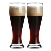 帕莎帕琦Pasabahce欧洲进口威森啤酒杯玻璃饮料杯520ML两只装42126