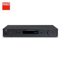 NAD C 328 音箱 音响 2.0声道高保真 HIFI发烧级 纯功放 功率放大器 (黑色)