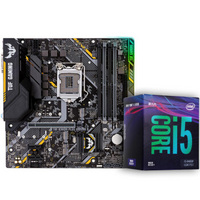 華碩(ASUS)TUF B360M-PLUS GAMING S主板(LGA 1151) 英特爾(intel)i5-9400F CPU處理器 板U套裝