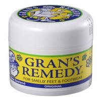 新西兰 Gran's remedy老奶奶臭脚粉 去脚臭脚汗去鞋臭脚臭粉 原味50g*1