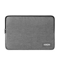 法国乐上(LEXON)笔记本保护套电脑包男士内胆包14英寸电脑保护套 04LG浅灰