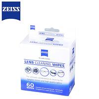 ZEISS 蔡司 一次性擦镜纸 60片+30片+6片