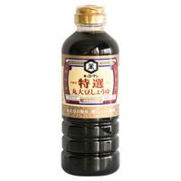 龟甲万 万字特选丸大豆酱油酿造酱油 500ml