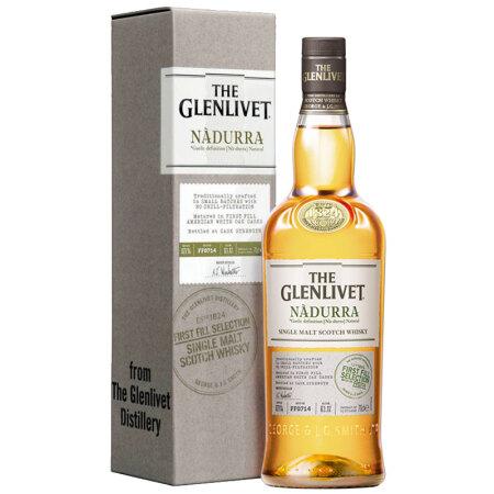 格兰威特(Glenlivet)洋酒 纳朵拉初桶系列 单一麦芽 苏格兰 威士忌 700ml