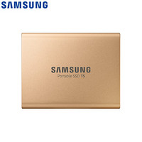SAMSUNG 三星 500GB Type-c USB3.1(PSSD)T5 玫瑰金