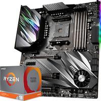 msi 微星 PRESTIGE X570 CREATION 创世板主板 + AMD 锐龙 Ryzen 9 3900X 处理器 套装